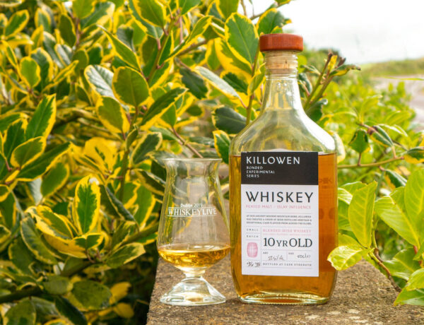 Killowen 10-year-old blend, peated Islay cask finish