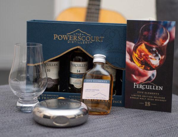 Fercullen whiskey tasting